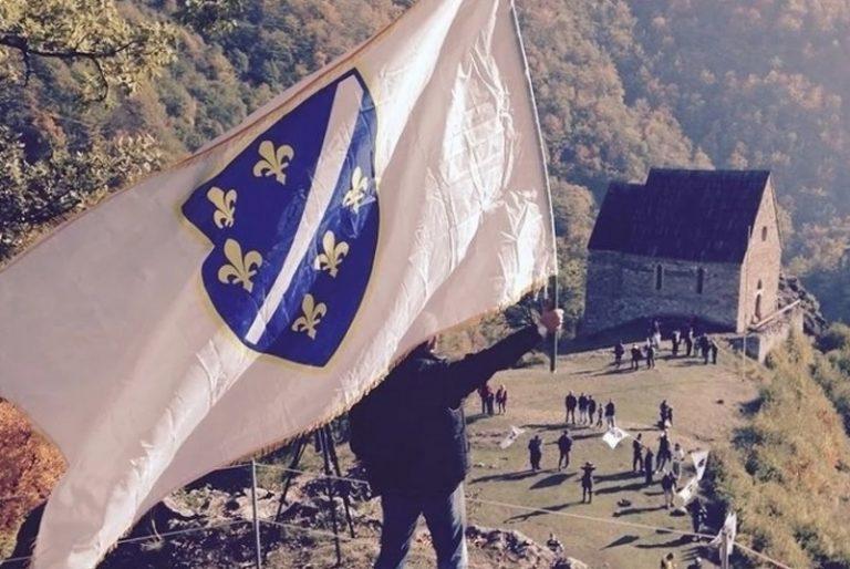 zastava ljiljani, bosanska zastava