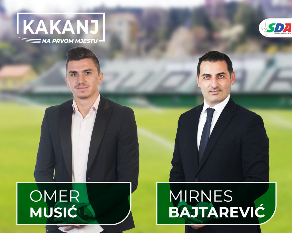 Omer Musić: Moja podrška za Mirnesa Bajtarevića i za kakanjsku snagu, slogu, zajedništvo i napredak