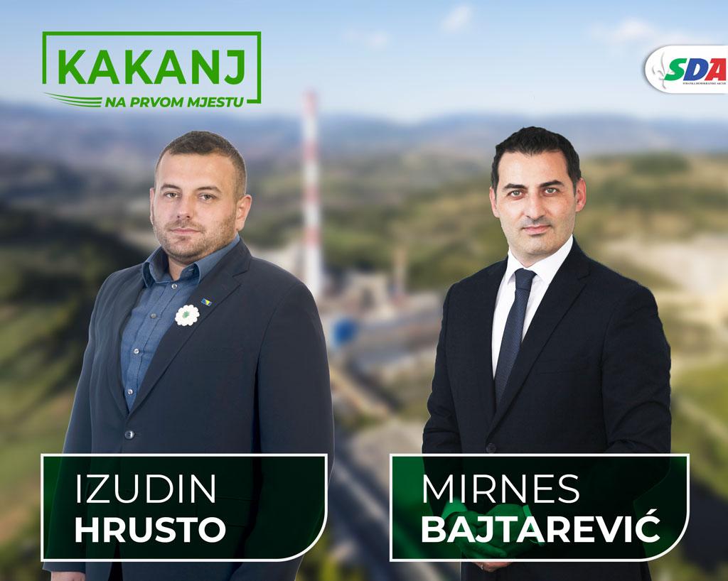 Izudin Hrusto: Mirnes Bajtarević je idealan izbor za općinskog načelnika
