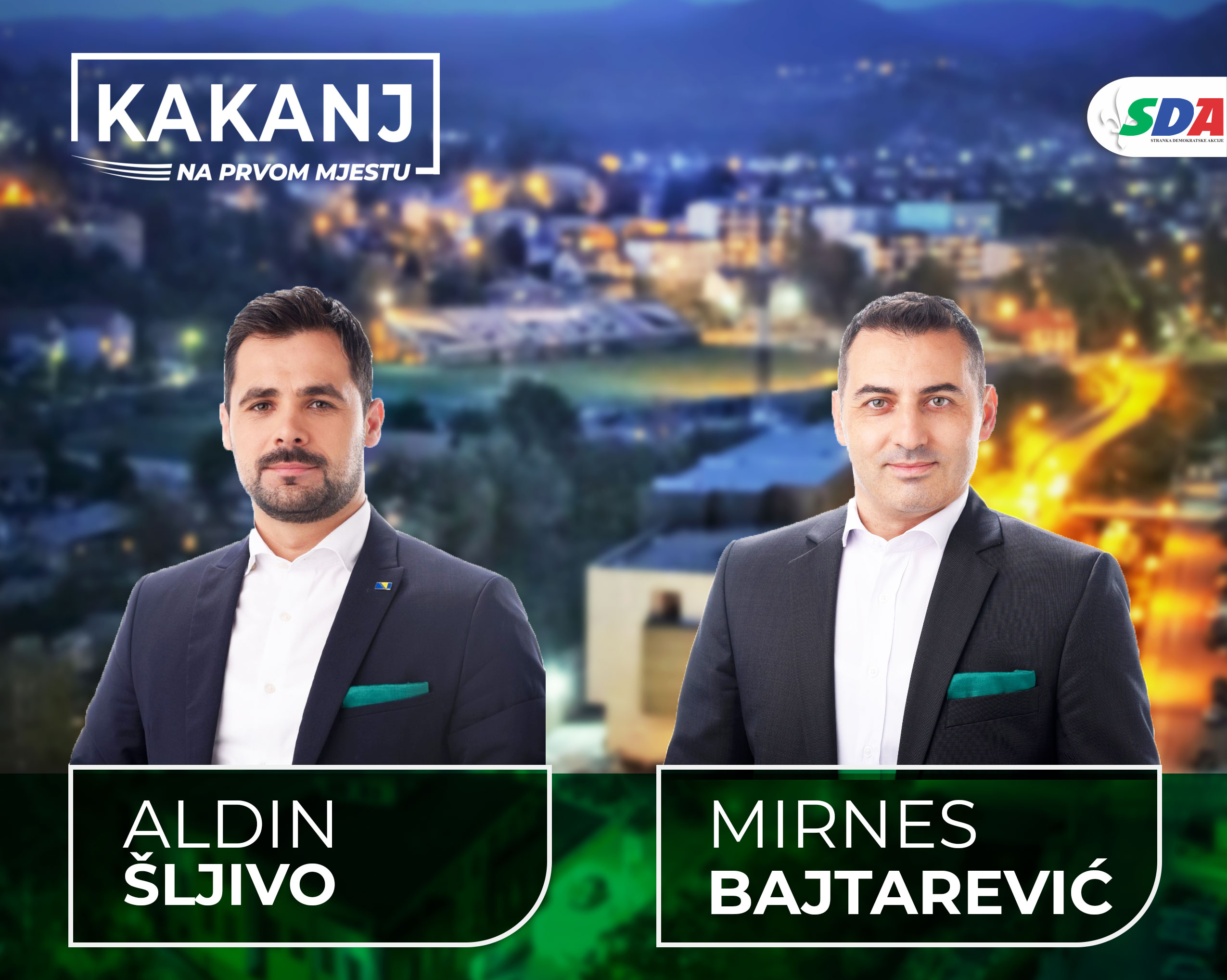 Aldin Šljivo: Rad kakanjske SDA počiva na temeljima timskog rada