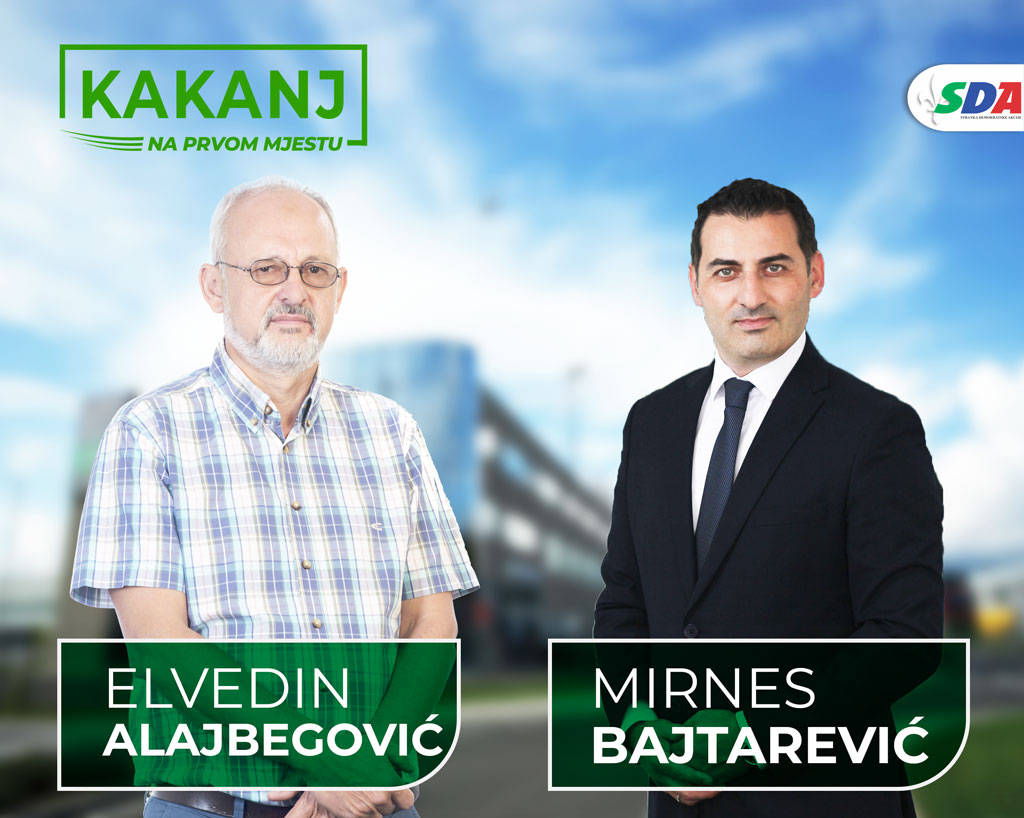 Elvedin Alajbegović: Mirnes Bajtarević, kandidat za načelnika Općine Kakanj, je čovjek koji cijeni stavove i mišljenja svih građana Kaknja