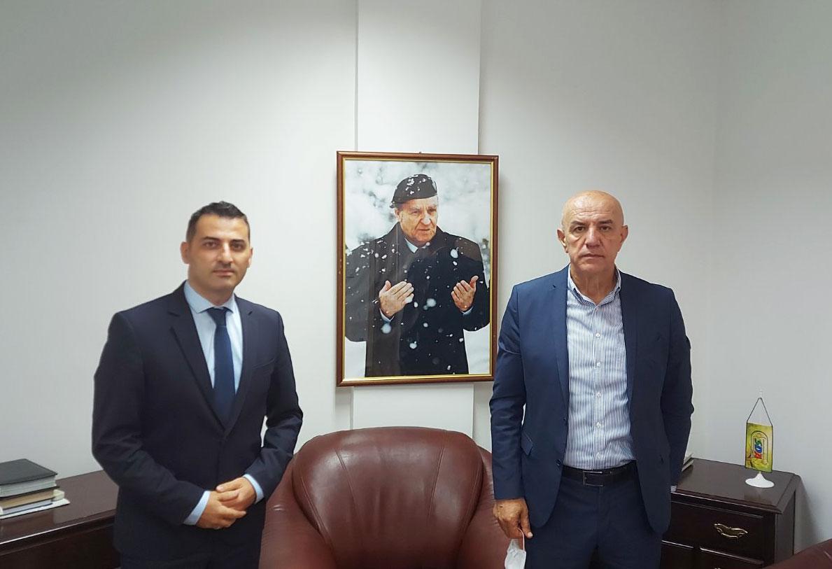 Radni sastanak s predsjednikom KO SDA ZDK Miralemom Galijaševićem
