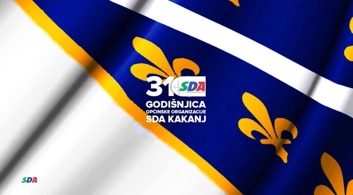 SDA Kakanj predstavlja video povodom 31. godišnjice OO SDA Kakanj